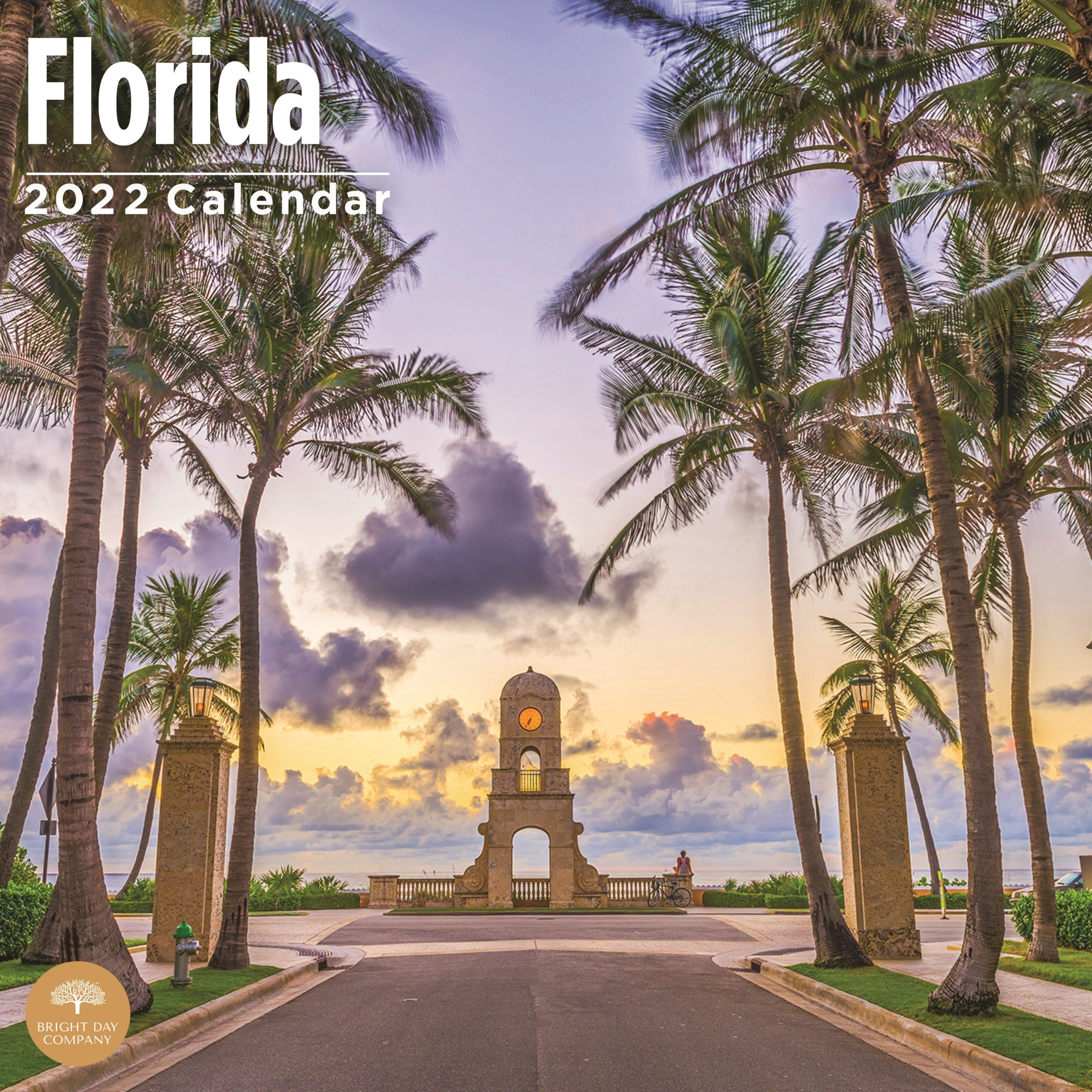2022 Home Sweet Home Florida Wall Calendar by Bright Day, 12 x 12 Inch